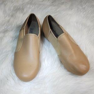 Girls Balera tan tap shoes dance